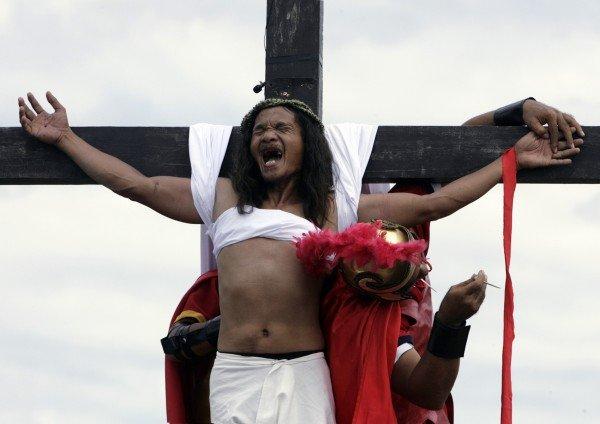 La Crocifissione nelle Filippine
