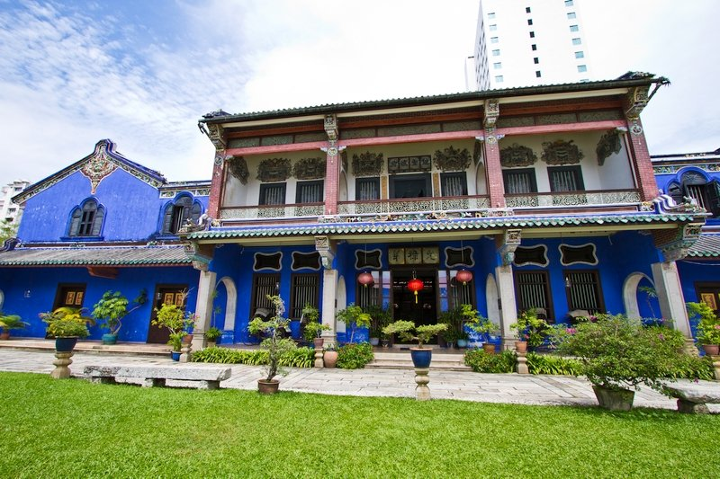 Edifici coloniali a Penang, Malesia