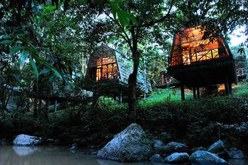 I Lodge più belli nella foresta del Borneo