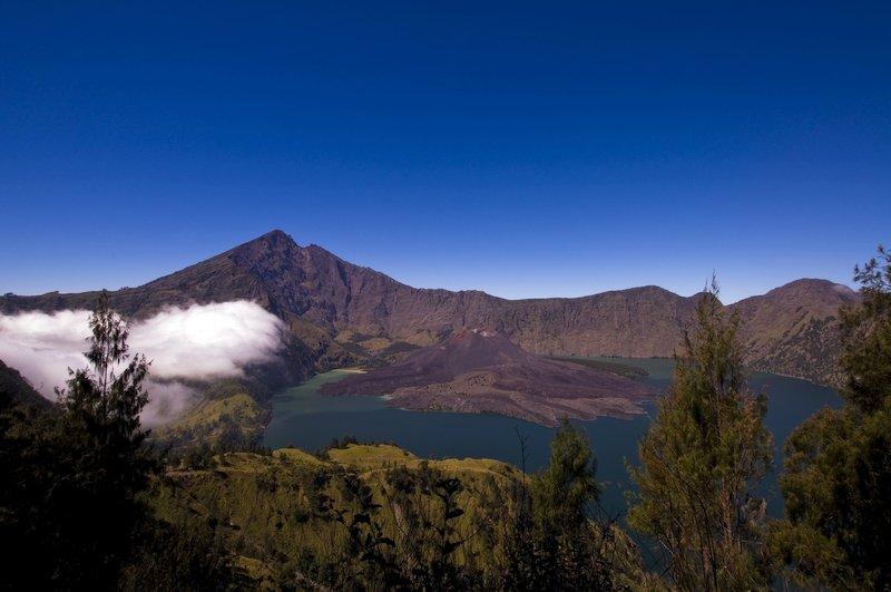 Monte Rinjani, Lombok