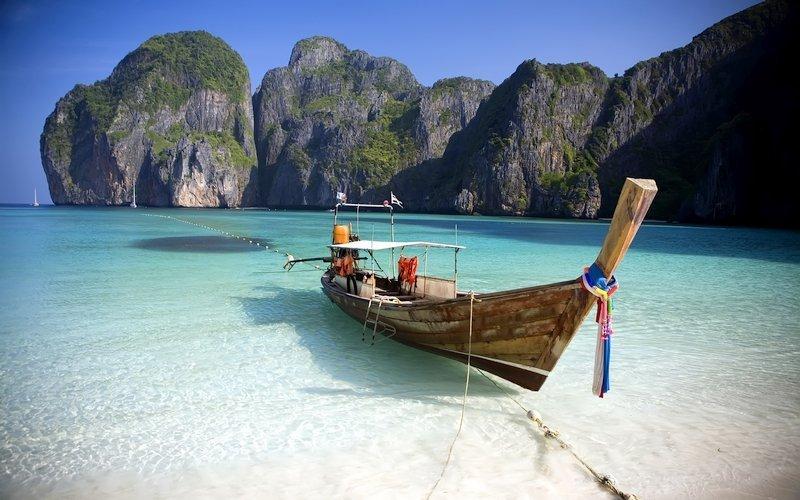 Maya Bay è una delle spiagge più belle della Thailandia