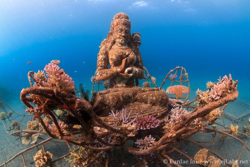 Scultura sottomarina Bali
