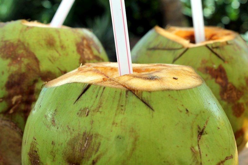 Bevanda noce di cocco a Phnom Penh