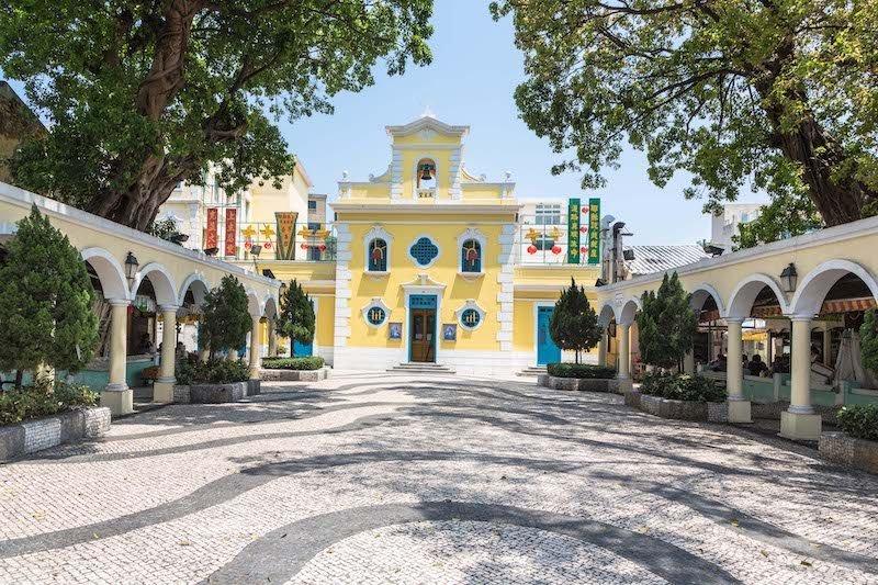 Chiesa di St. Francis Xavier a Coloane, Macau