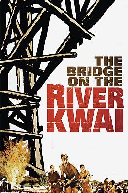 Ponte sul fiume Kwai poster