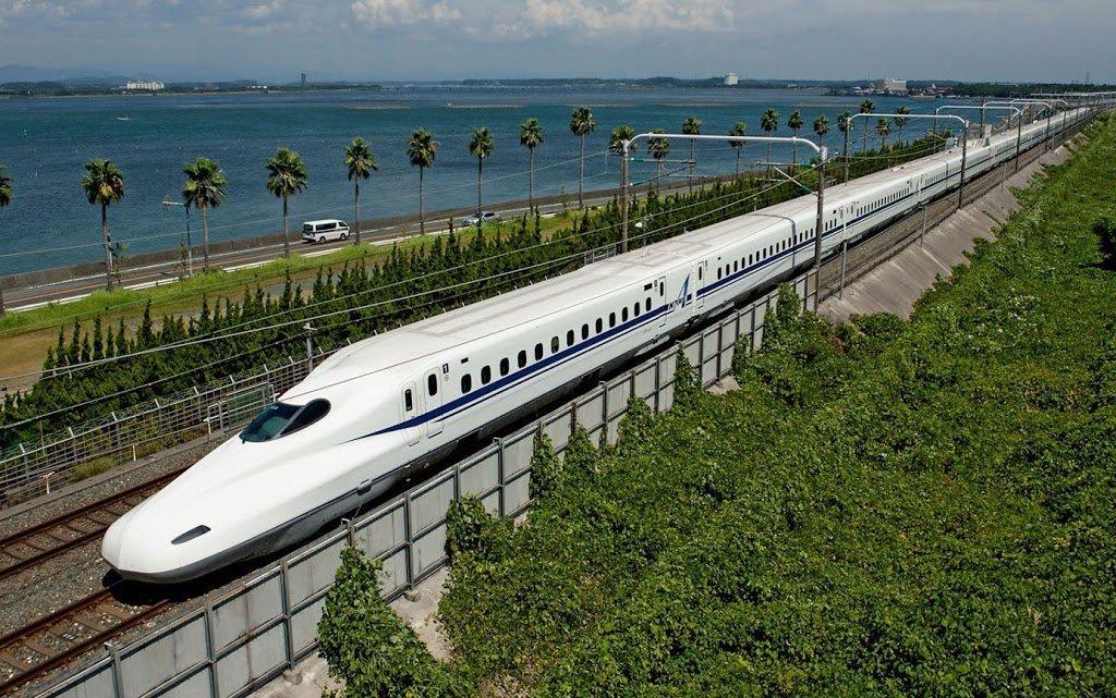 Treno più veloce del mondo in Giappone