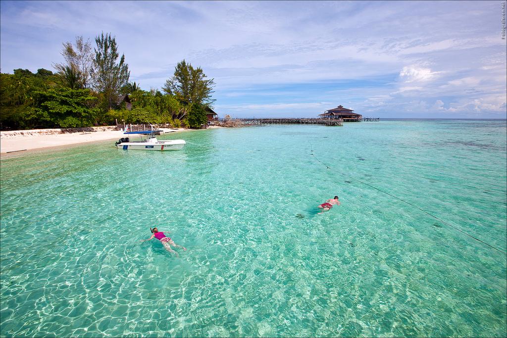 L'Isola di Lankayan è una delle isole più belle del Borneo