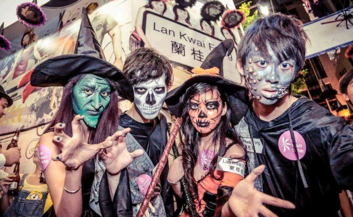 Halloween a Hong Kong