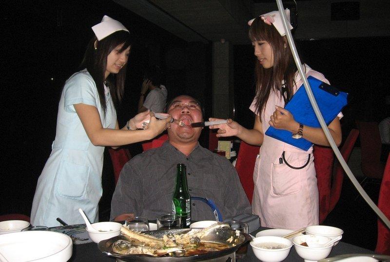 D.S. Music ristorante a Taipei è uno dei ristoranti più bizzarri dell'Asia