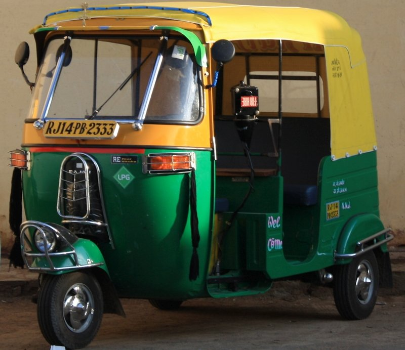 Bajaj Auto Risciò, India