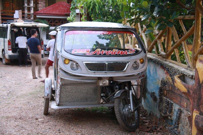 Triciclo e Motorela, Filippine
