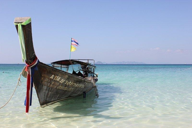 "Barche a coda lunga ""Longtail Boats"", Thailandia"