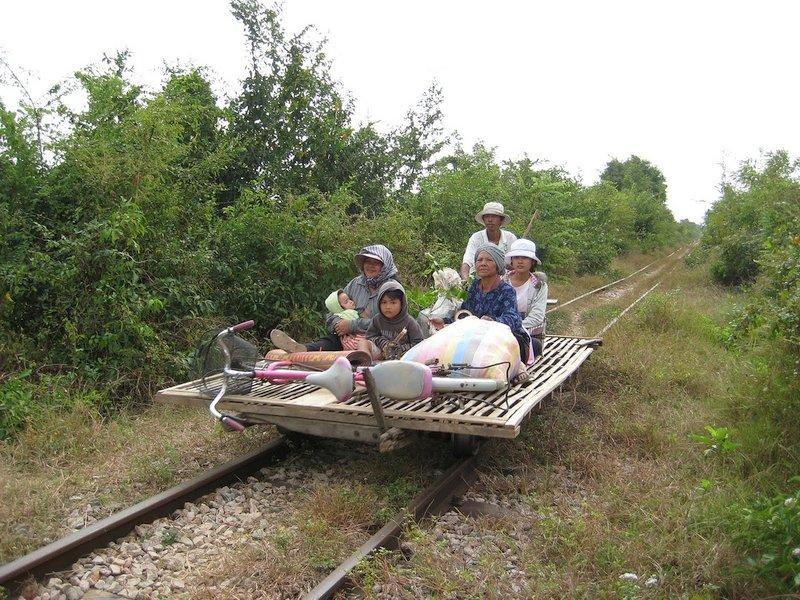 Il Treno di bambù, Cambogia