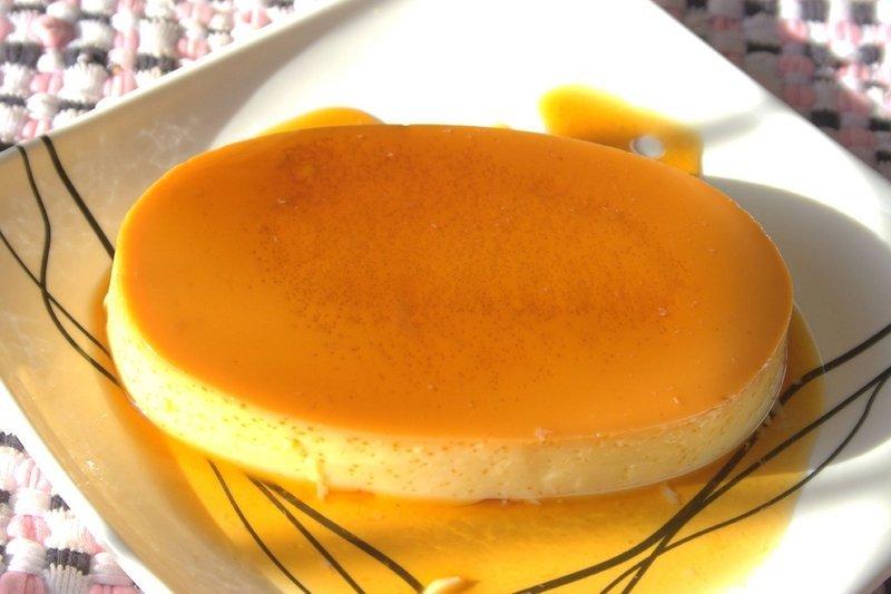 Piatto di dessert filippino Leche Flan