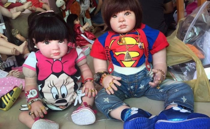 Bambole-Angelo Luk Thep Thailandia