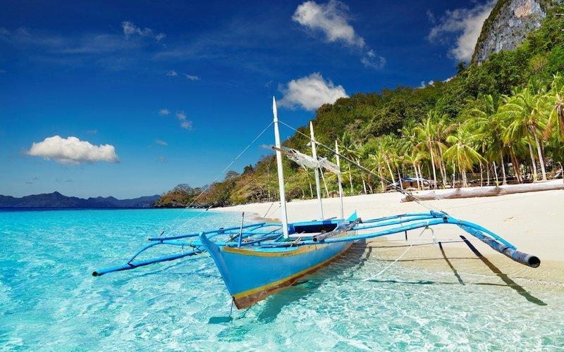 Spiaggia 7 Commandos a El Nido Palawan nelle Filippine