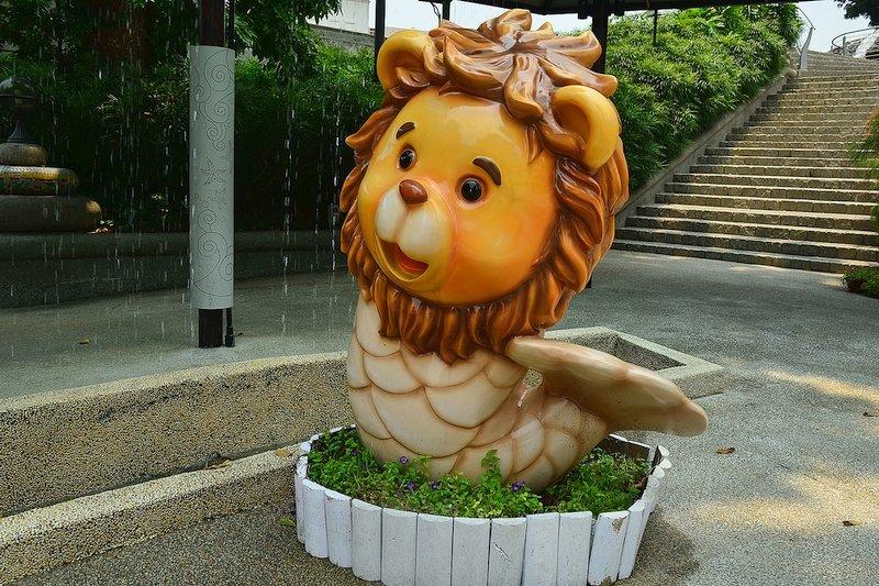 Cucciolo di Merlion Singapore
