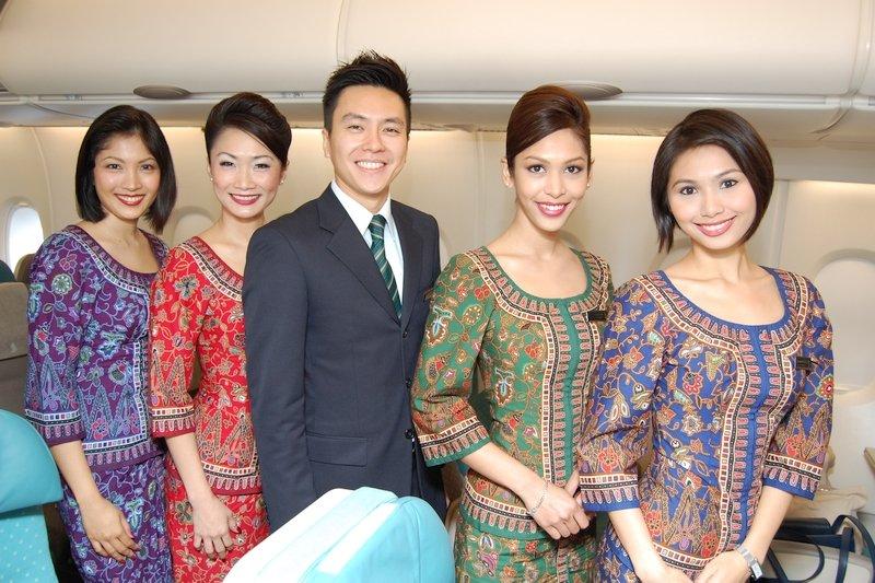 Assistenti di Bordo della Singapore Airlines
