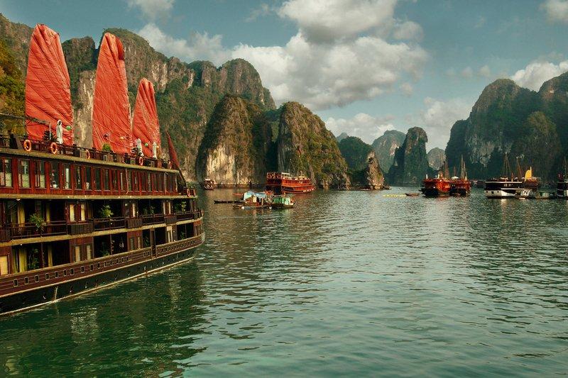 La Baia di Halong è uno dei luoghi più belli del Vietnam