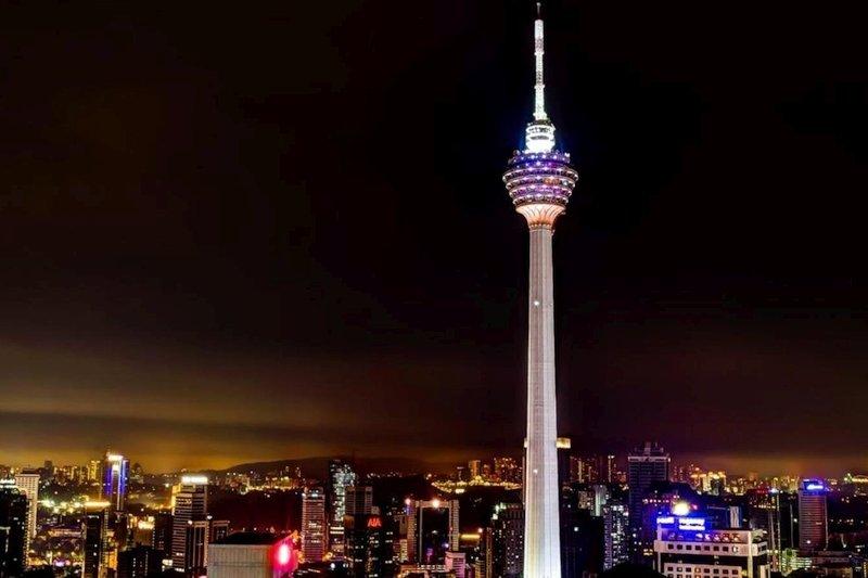 Torre delle comunicazioni KL Menara di Kuala Lumpur, Malesia