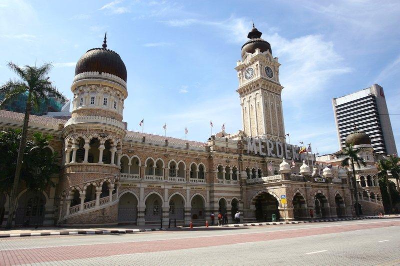 Palazzo Sultan Abdul Samad a Kuala Lumpur in Malesia