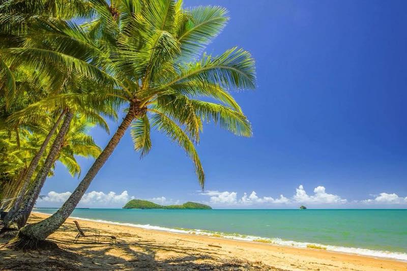 Palm Cove è una delle spiagge più belle dell'Australia