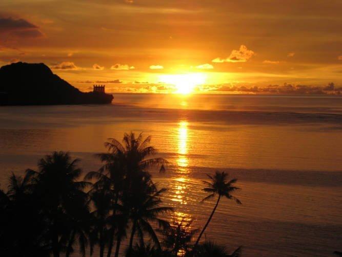 tramonto-isola-di-guam