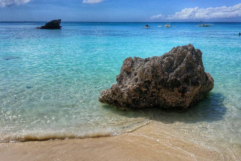 Mare trasparente di Boracay