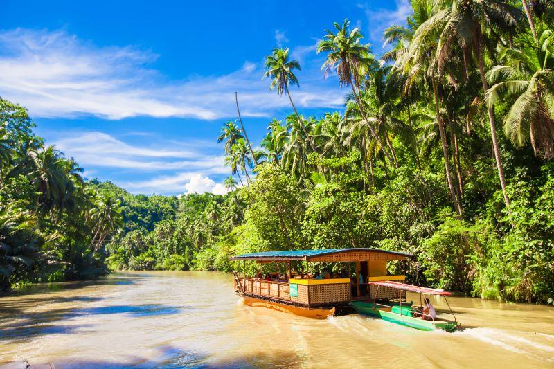 Crociera sul fiume Loboc a Bohol