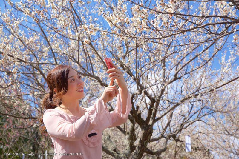 Selfie con i Fiori di Ciliegio