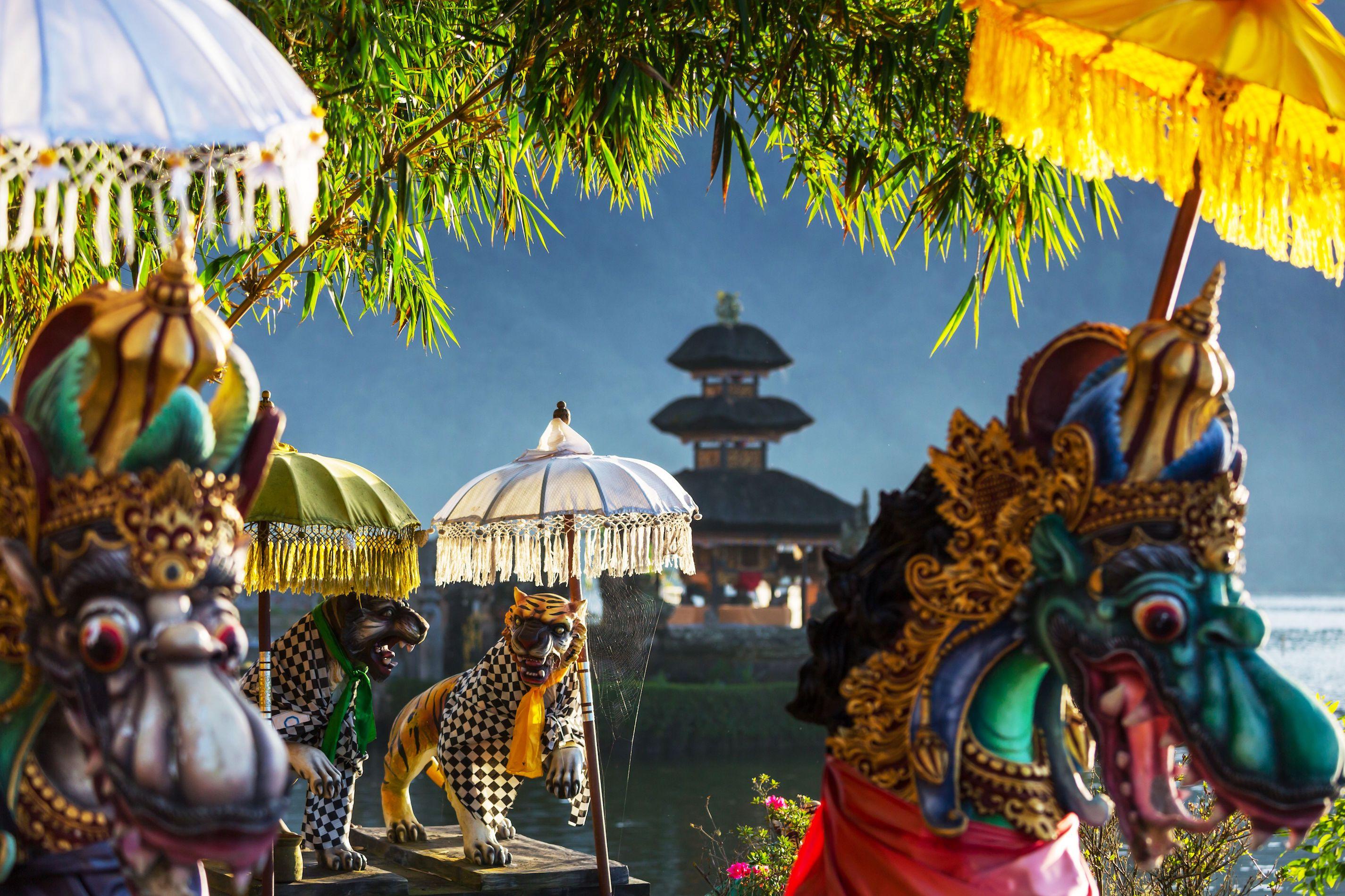 Tempio Pura Ulun Danu a Bali Indonesia