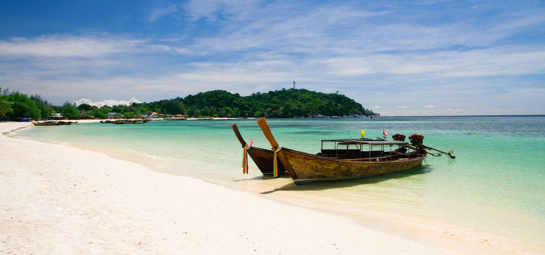 Spiaggia dell'isola di Koh Lipe in Thailandia