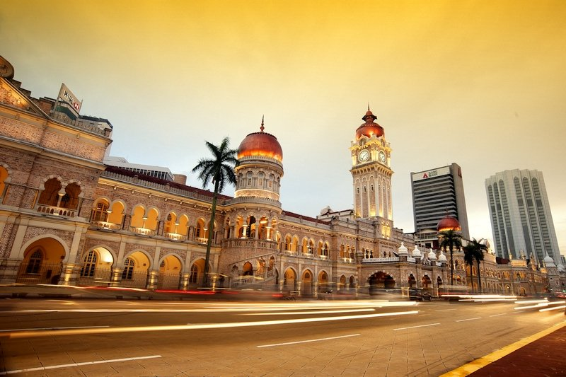 Palazzo Sultan Abdul Samad Building a Kuala Lumpur, Malesia