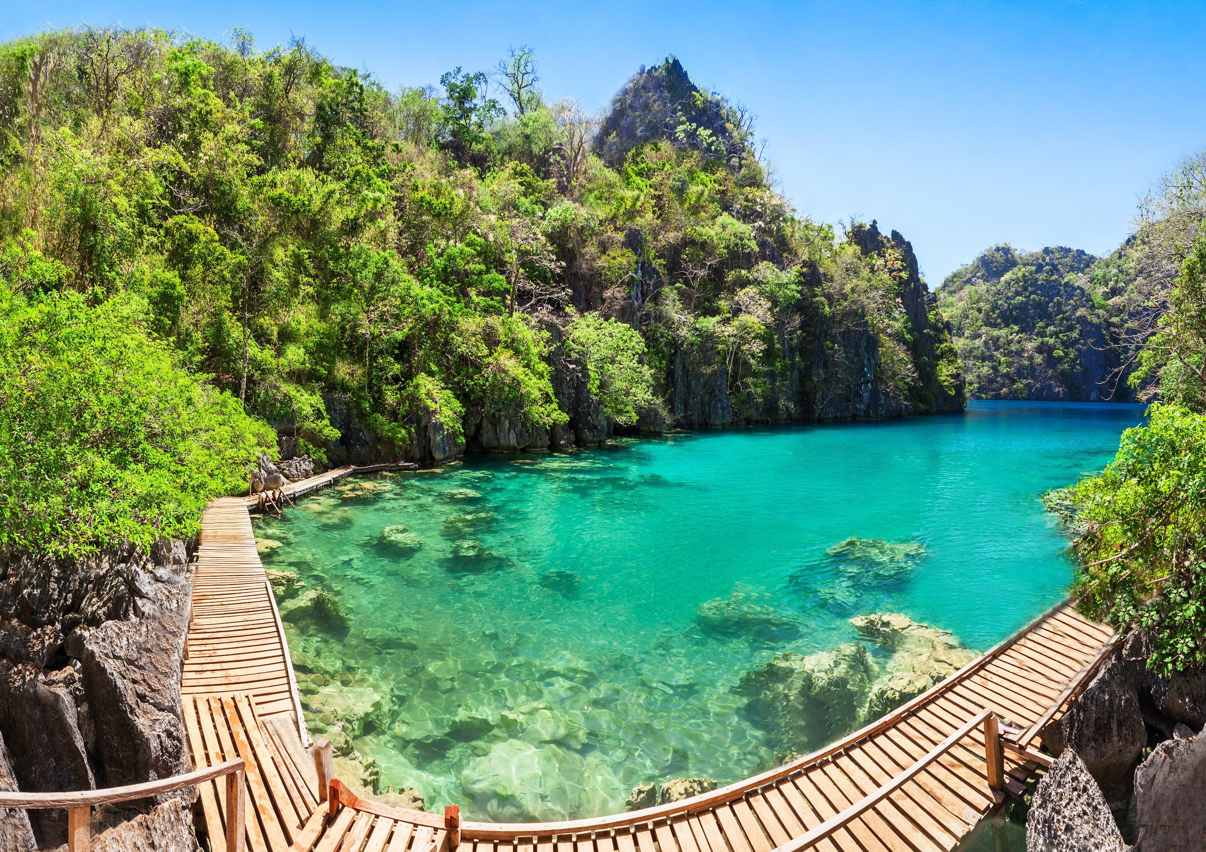 Escursione al Lago Kayangan di Coron