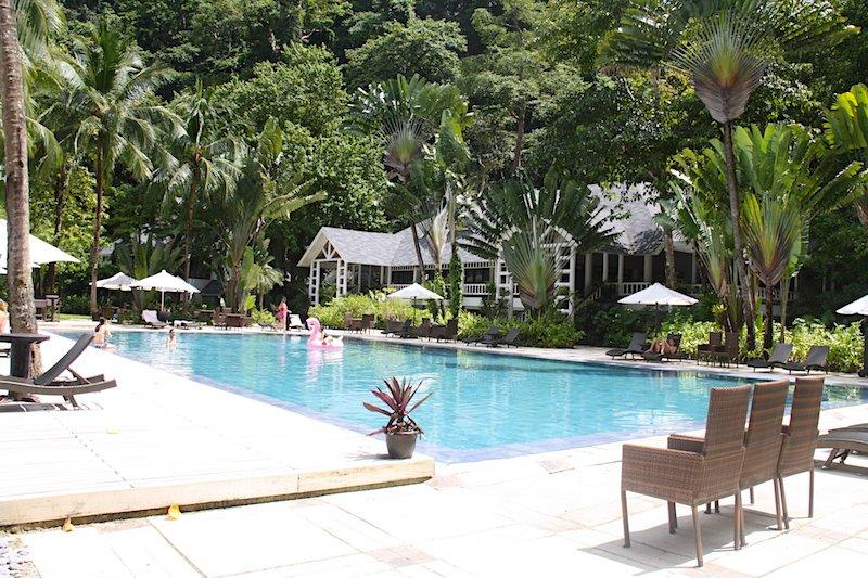 Piscina di Lagen Resort El Nido