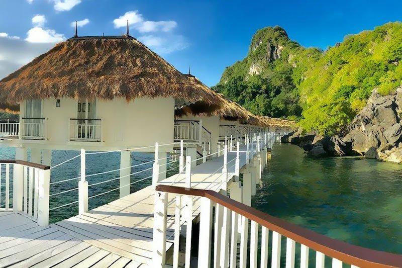 Cottage sulle palafitte a Apulit Island El Nido Resorts