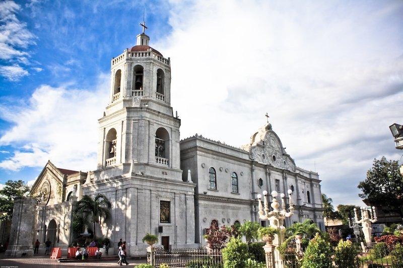 Esterno della cattedrale della città di Cebu