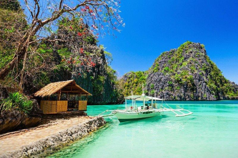 Escursione con barca privata sull'isola di Coron, Palawan