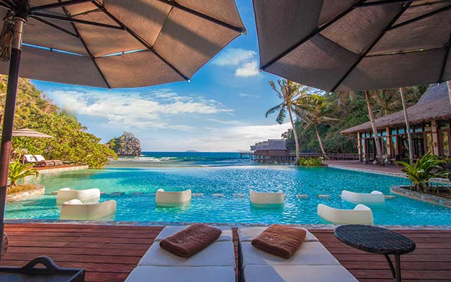 Piscina del Cauayan Island Resort El Nido