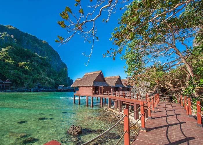 Ville sul mare al Cauayan Island Resort El Nido