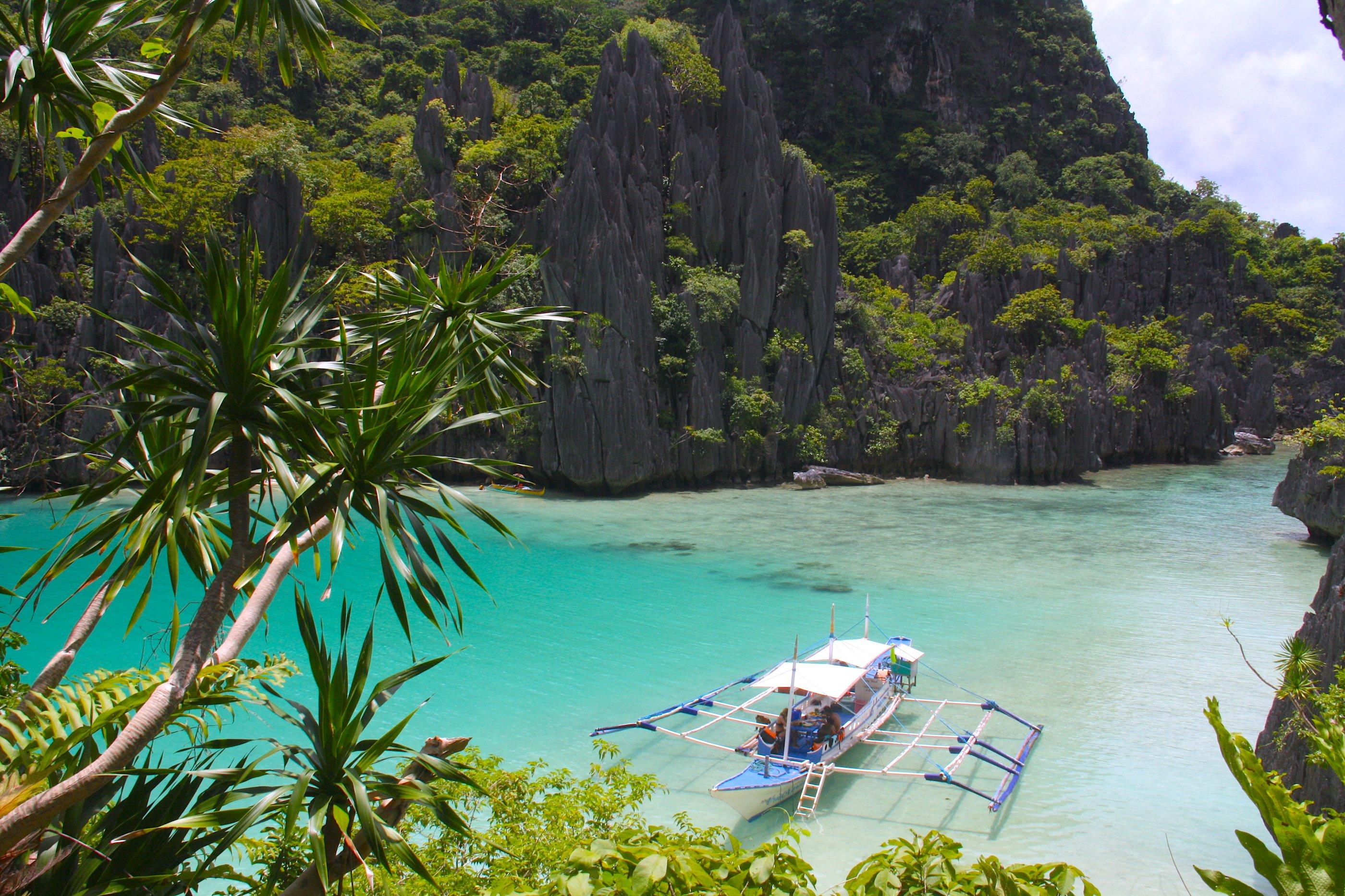 Escursione con barca privata nella laguna di Cadlao a El Nido, Palawan