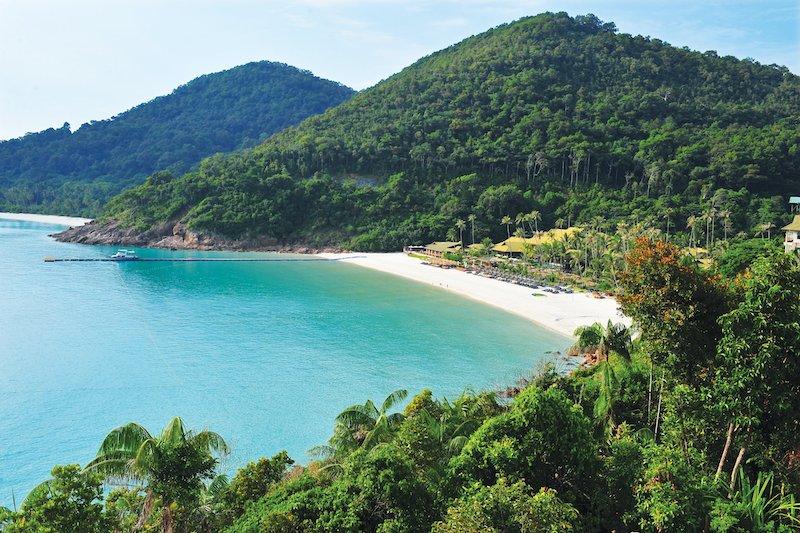 Baia privata sull'isola di Redang, Malesia